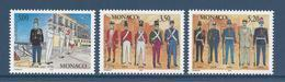 Monaco - YT N° 2107 à 2109 - Neuf Sans Charnière - 1997 - Monaco