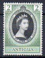 ANTIGUA. N°103 De 1953. Elizabeth II. - Königshäuser, Adel