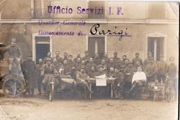 UFFICIO SERVIZI I . F DISTACCAMENTO DI PARIGI NV - Caserme