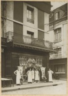 Boucherie Lecerf à Dieppe . Angle Des Rues De Clieu Et De La Boucherie (sic). - Métiers