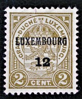 SURCHARGE 1895 - NEUF ** - MI 68 - 1895 Adolphe Right-hand Side