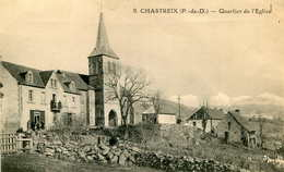 CHASTREIX  =  Quartier De L'église   625 - France