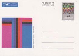 Liechtenstein 1992 Postal Stationery Zeitkunst 1 Card Unused (42470) - Liechtenstein