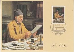 Switzerland 1981 Albert Anker 1v Maxicard (42472) - Maximumkaarten