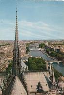 Cpm 75 Paris 1 Cathédrale Notre Dame La Fléche - Notre Dame De Paris