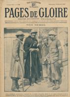 PAGES DE GLOIRE, Revue 16 Pages N° 63, Dimanche 13 Février 1916 Canal De Panama, Gorizia, Champagne, Gabriel D'Annunizio - Livres, BD, Revues