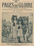 PAGES DE GLOIRE, Revue 16 Pages, N° 50, Dimanche 14 Novembre 1915, Alsace, Sous-Marin, Uskub, Skopje, Prosnes, Cyclistes - Livres, BD, Revues