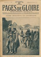 PAGES DE GLOIRE, Revue 16 Pages, N° 47, Dimanche 24 Octobre 1915, Arras, Champagne, Obus De 25, Roehampton-House... - Livres, BD, Revues