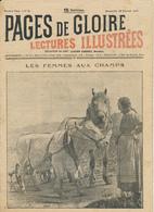 PAGES DE GLOIRE, Revue 16 Pages, N° 5, Dimanche 18 Février 1917, Moosch, Bouchavesnes, Attelage De Guerre, M. Kamutter.. - Livres, BD, Revues