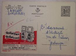 Publibel 1491 Thématique Rolleiflex, Rolleicord,  Appareil Photo 1957 - Publibels