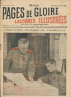 PAGES DE GLOIRE, Revue 16 Pages, N° 2, Dimanche 28 Janvier 1917, Ris-Orangis, Bordeaux, Verdun, Tramway, M. Kamutter... - Livres, BD, Revues