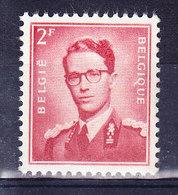 BELGIQUE COB 925a  ** MNH. (7B224) - 1953-1972 Glasses