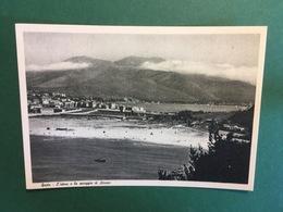 Cartolina Gaeta - L'istmo E LA Spiaggia Di Serpano - 1930 Ca. - Latina
