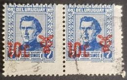 1965 General Jose Artigas, Issue Of 1940 Surcharhed, Republica Oriental Del Uruguay, *,**, Or Used - Uruguay