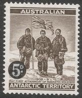 Australian Antarctic Territory. 1959 Definitives. 5d On 4d MH. SG 2 - Australian Antarctic Territory (AAT)