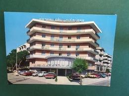 Cartolina Hotel DEs Nations - Via Lungomare Costruzione - Riccione - 1970 Ca. - Rimini