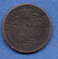 Belgique  - 2  Centimes 1836    --  Km # 4.2    état B+ - 1831-1865: Leopold I