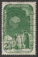 Australian Antarctic Territory. 1959 Definitives. 2/3 Used. SG 5 - Territoire Antarctique Australien (AAT)