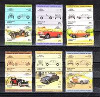 Tuvalu Nukulaele - Auto: Berline E Sportive. Cars: Sedans And Sports. Sunbeam,BMW,Lasalle,Rover,Chysler. - Automobili