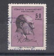 Turkey  1965 Mi Nr 1979  Ataturk  (a1p29) - 1921-... République