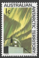 Australian Antarctic Territory. 1966 Definitives. 1c MH. SG 8 - Australian Antarctic Territory (AAT)