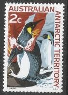 Australian Antarctic Territory. 1966 Definitives. 2c MH. SG 9 - Australian Antarctic Territory (AAT)