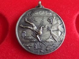 Spain Sport Medal Almeria Campionato Mundial De Pesca Submarina 1961 - Spain