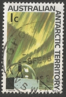 Australian Antarctic Territory. 1966 Definitives. 1c Used. SG 8 - Australian Antarctic Territory (AAT)