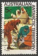 Australian Antarctic Territory. 1966 Definitives. 5c Used. SG 11 - Territoire Antarctique Australien (AAT)