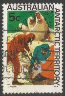 Australian Antarctic Territory. 1966 Definitives. 5c Used. SG 11 - Australian Antarctic Territory (AAT)