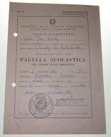 PAGELLA SCOLASTICA SCUOLA ELEMENTARE 1970 - Diploma & School Reports