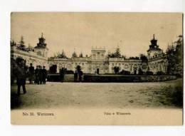 271098 POLAND WARSZAWA Wilanowie Palace Vintage Postcard - Polonia