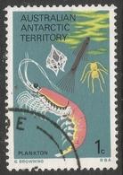 Australian Antarctic Territory. 1973 Definitives. 1c Used. SG 23 - Territoire Antarctique Australien (AAT)