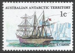 Australian Antarctic Territory. 1979 Ships. 1c MH. SG 37 - Australian Antarctic Territory (AAT)