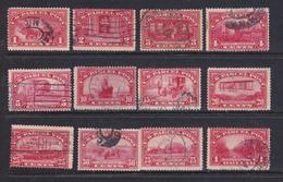 Stati Uniti  Pacchi 1912 Serie Cpl. Yv. 1-10 Usata - Pacchi