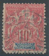 Lot N°48391  MADAGASCAR N°43, Oblit Cachet à Date Bleu De VOHEMAR (MADAGASCAR) - Oblitérés
