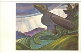 EMILY CARR - BIG RAVEN  -  (CANADA) - Canada