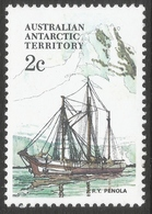 Australian Antarctic Territory. 1979 Ships. 2c MH. SG 38 - Nuevos