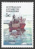 Australian Antarctic Territory. 1979 Ships. 5c MH. SG 39 - Neufs