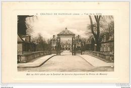 02 CHATEAU DE MARCHAIS. La Grille - France
