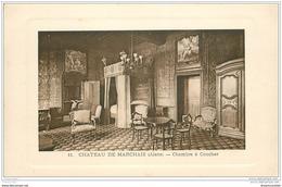 02 CHATEAU DE MARCHAIS. Chambre à Coucher - France