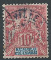 Lot N°48393  MADAGASCAR N°43, Oblit Cachet à Date A Déchiffrer - Oblitérés