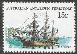 Australian Antarctic Territory. 1979 Ships. 15c MH. SG 42 - Neufs