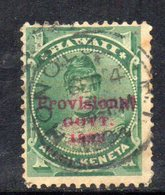 APR570 - HAWAII 1893 , Yvert N. 44  Usato - Hawaii