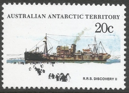 Australian Antarctic Territory. 1979 Ships. 20c MH. SG 43 - Australian Antarctic Territory (AAT)