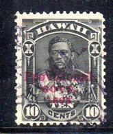 APR574 - HAWAII 1893 , Yvert N. 50  Usato - Hawaii