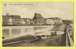 * Liège - Luik (La Wallonie) * (Nels, Série 8, Nr 27) Quai De Maestricht, Musée Archéologique, Canal, Péniche Bateau - Lierneux