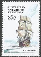 Australian Antarctic Territory. 1979 Ships. 25c MH. SG 45 - Neufs