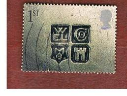 GRAN BRETAGNA.GREAT BRITAIN -  SG 2185  -  2001 GREETINGS STAMPS: OCCASIONS (WELCOME)    - USED - 1952-.... (Elisabetta II)