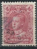 Terre Neuve   - Yvert N°  134  Oblitéré    - Bce 17910 - 1908-1947